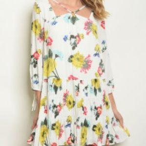 Dresses & Skirts - COMING SOON! Feminine floral dress
